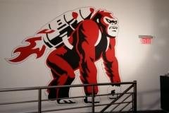 Hand painted gorilla