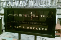 Hewitt gold leaf sign