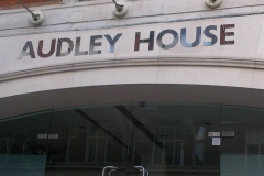 Audley House Stainless Steel Letters 04
