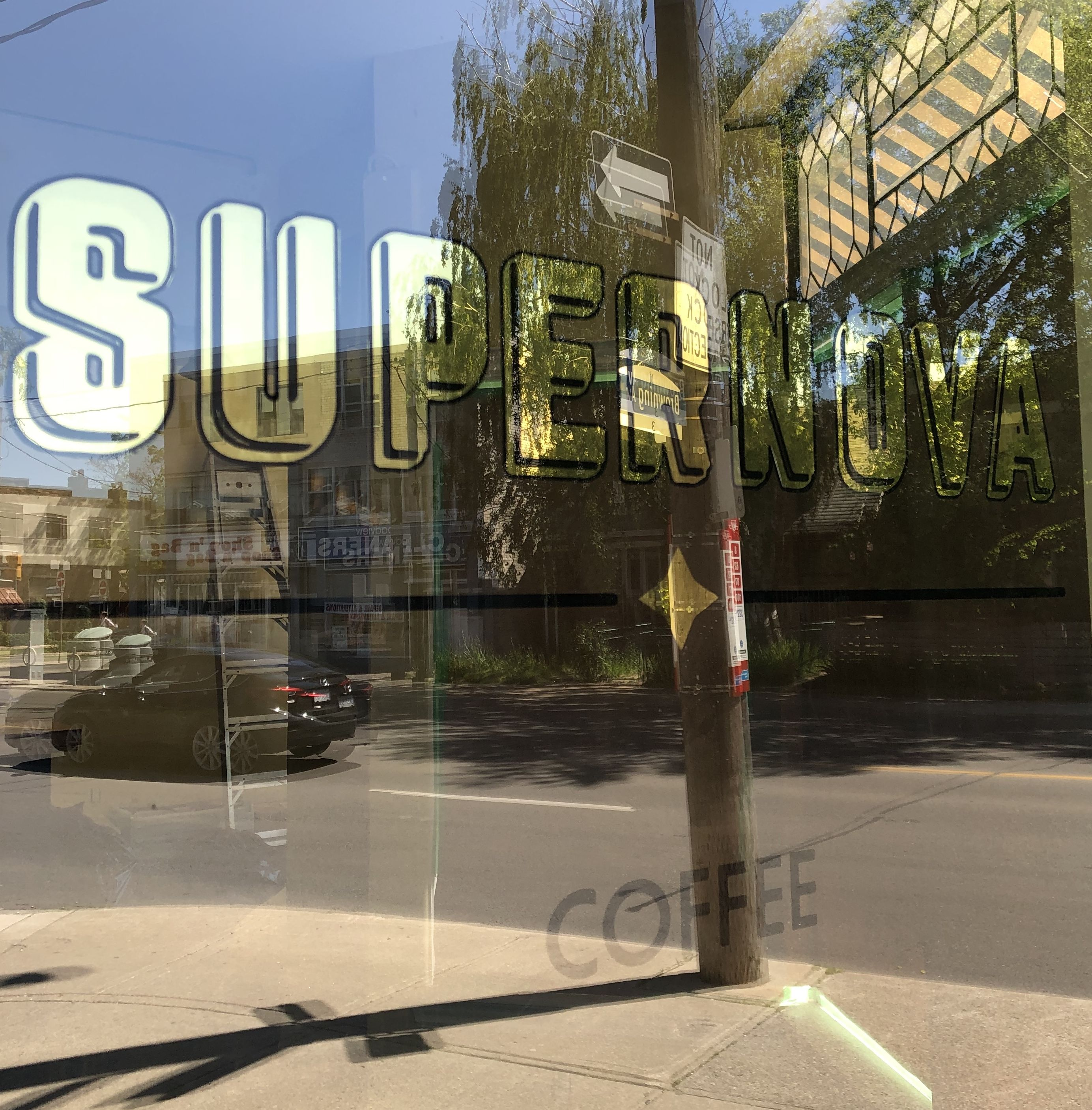 Supernova Coffee Shop, Toronto 2019