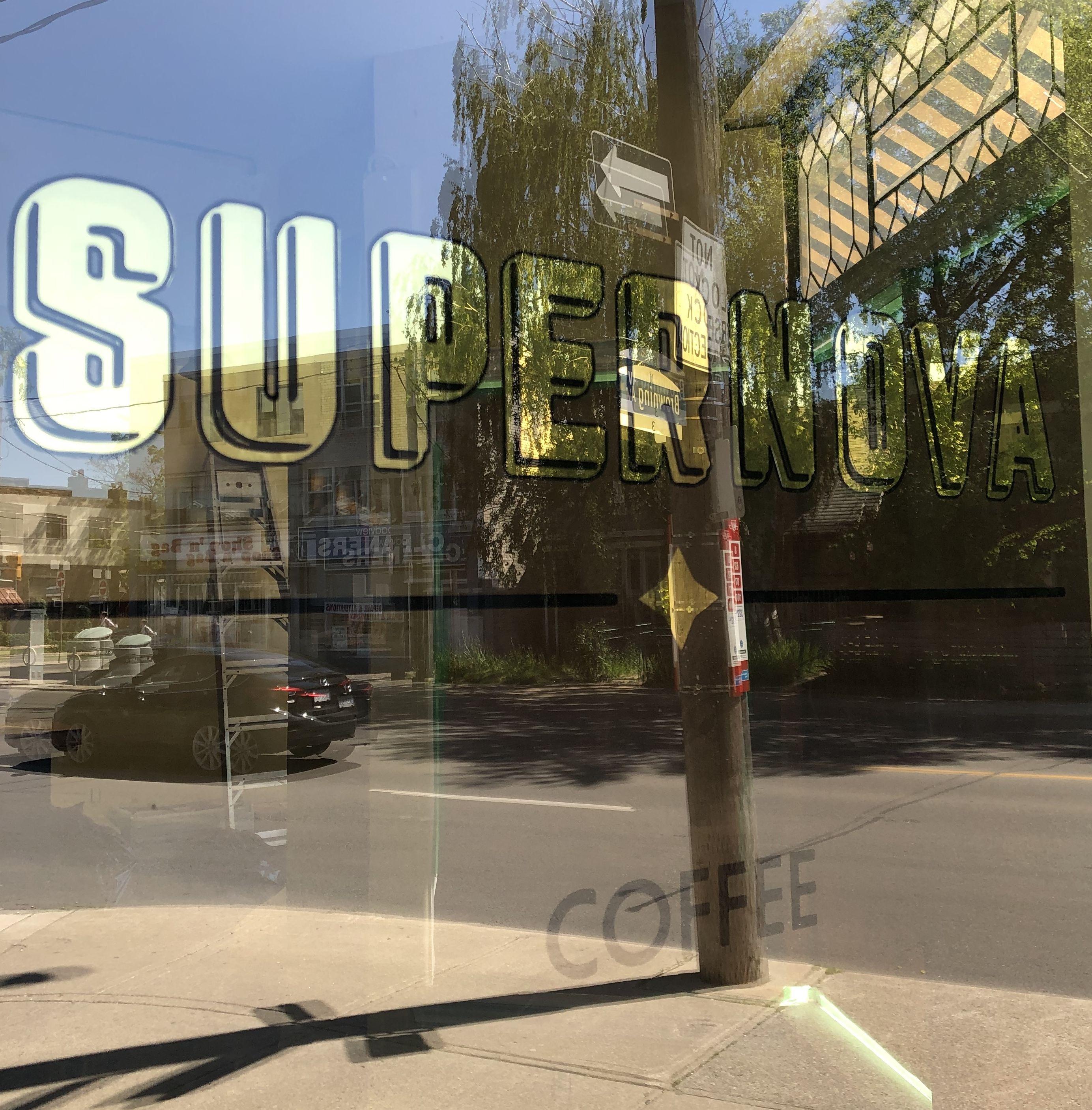 Supernova Coffee Shop, Toronto 2019