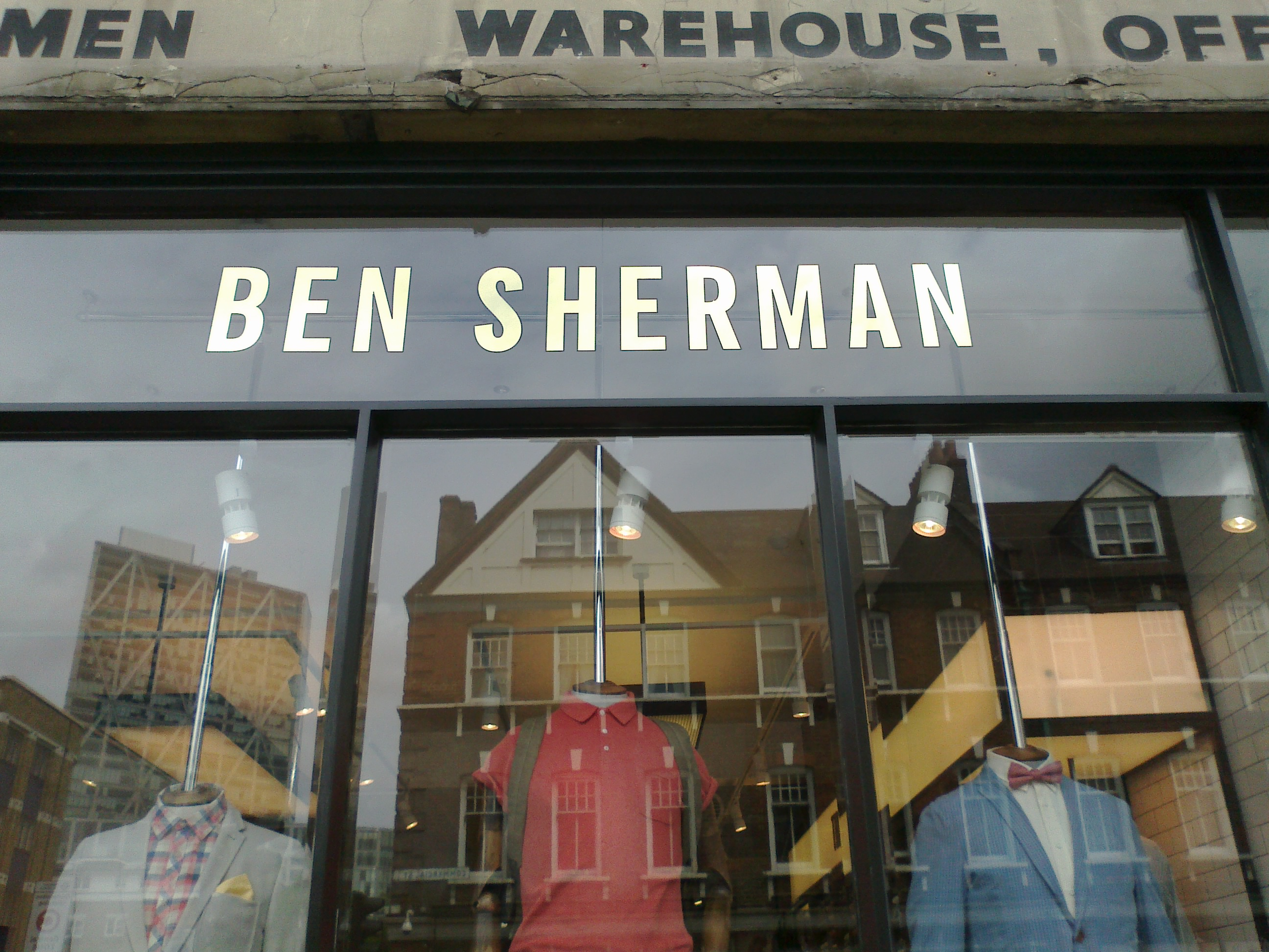 Ben Sherman. London, 2013