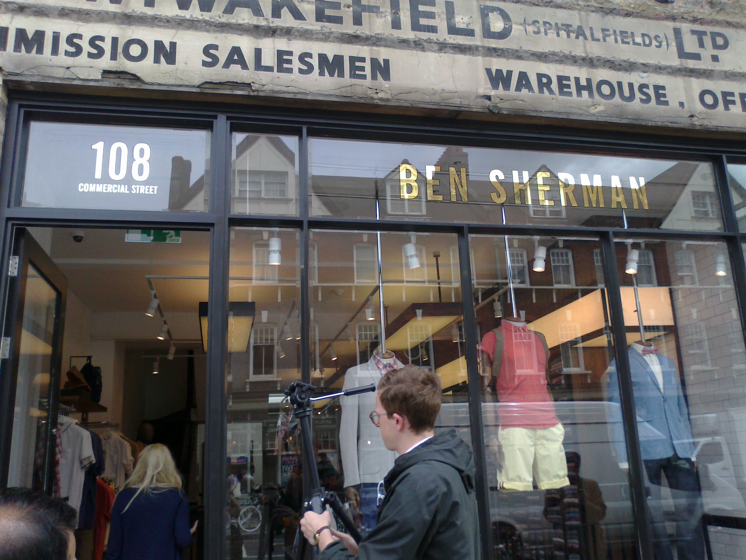 Ben Sherman, London 2012
