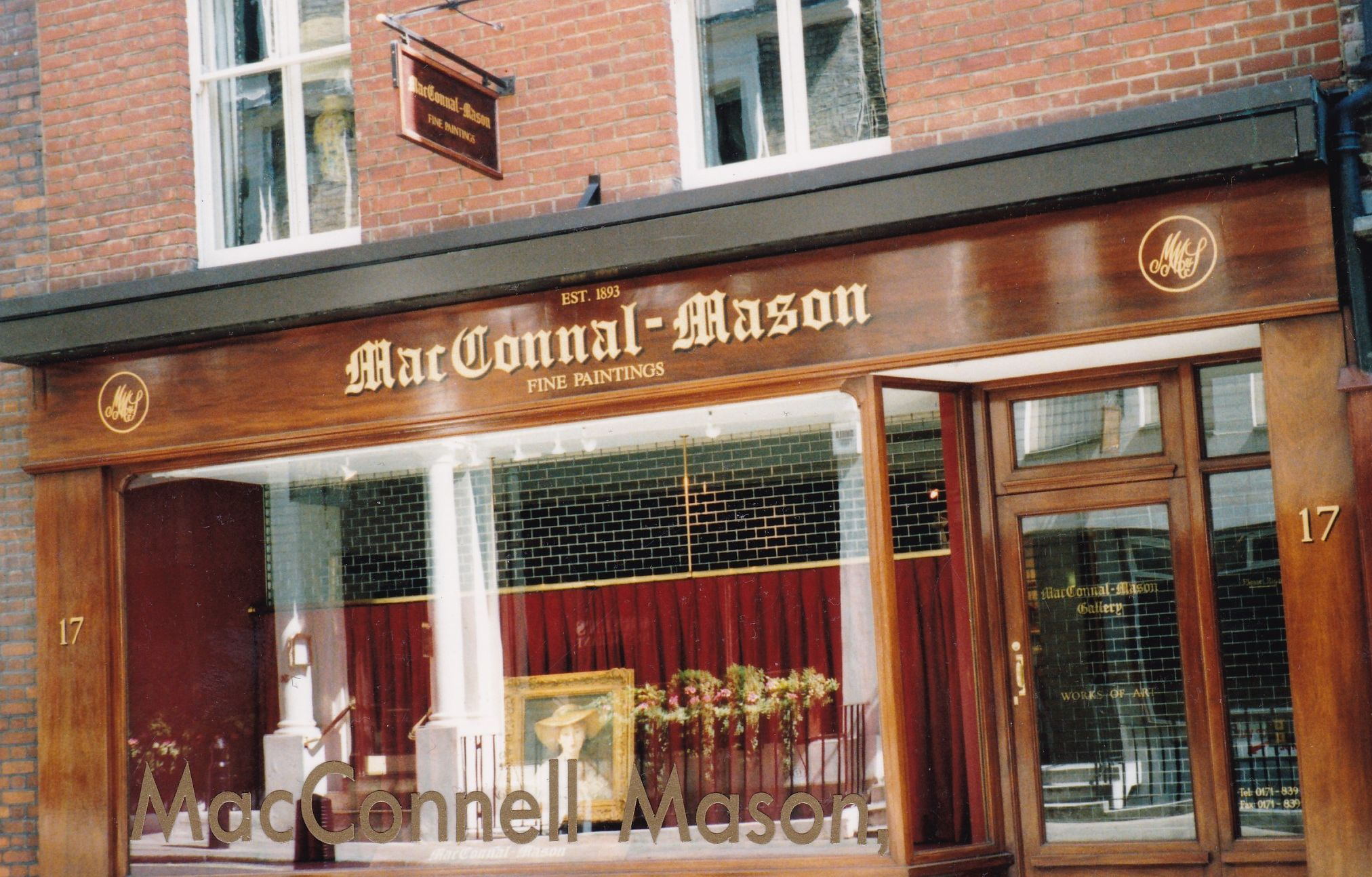 McConnel Mason Art Gallery, Duke Street, St. James's, London 1999