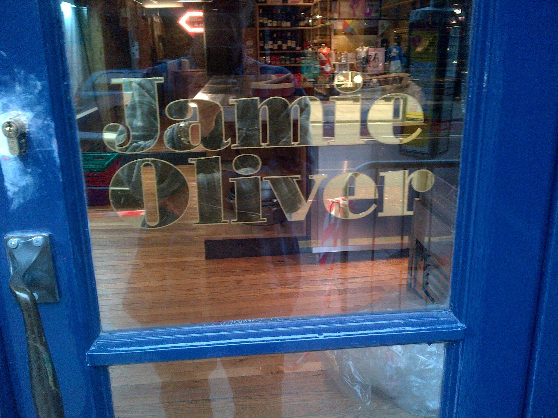 Jamies Italian, London 2013