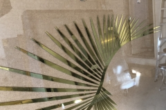 One of twenty pieces of glass for the Grand Lobby at the Royal York Hote,  Toronto 2019