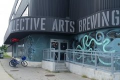 Collective Arts Brewing, Hamilton, Ontario 2018