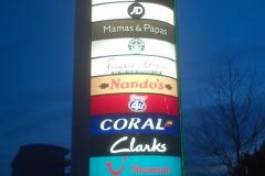 Tandem Centre sign, London 2013