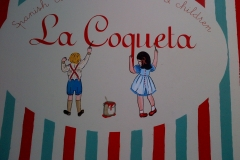 La Coqueta, hanging sign, London 2011
