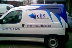 CBS Berlingo van side