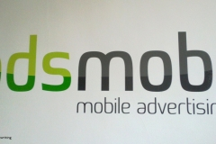 Adsmobi Vinyl Graphics on wall