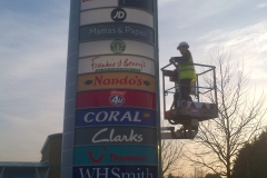 Tandem Centre Sign Fixing 05