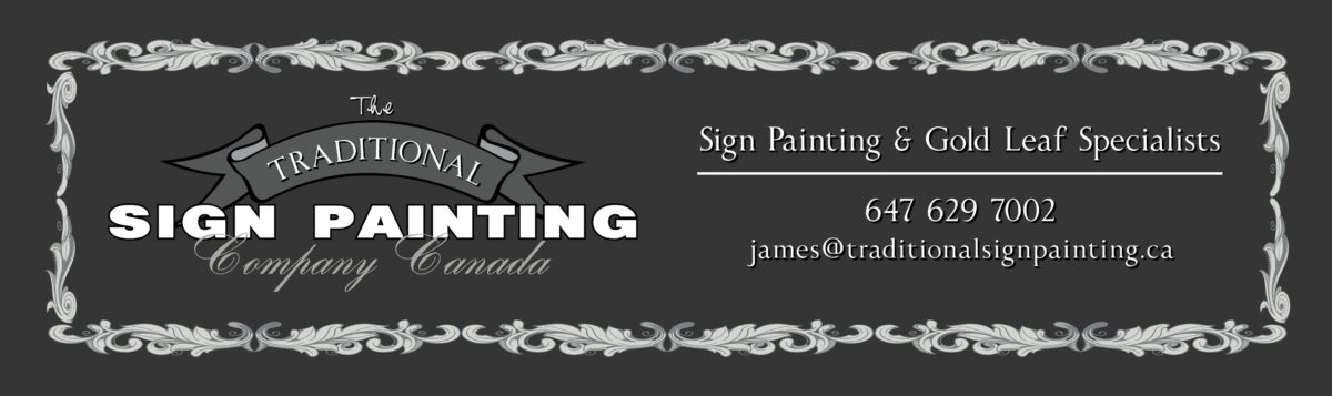 The Traditional Sign Painting Company